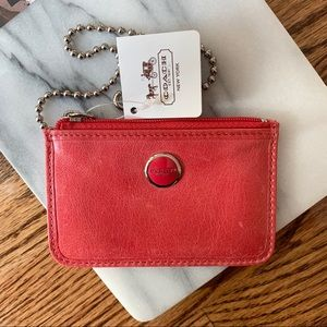 NWT Coach Mini Skinny ID Case